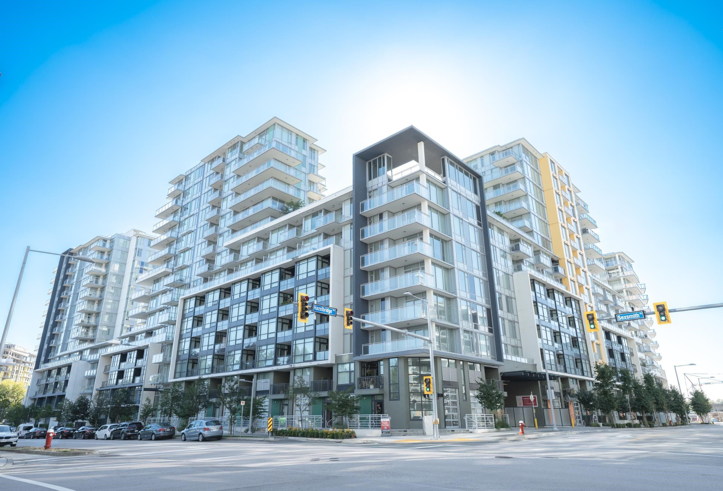 Main Photo: 811 3333 SEXSMITH Road in Richmond: West Cambie Condo for sale : MLS®# R2625609