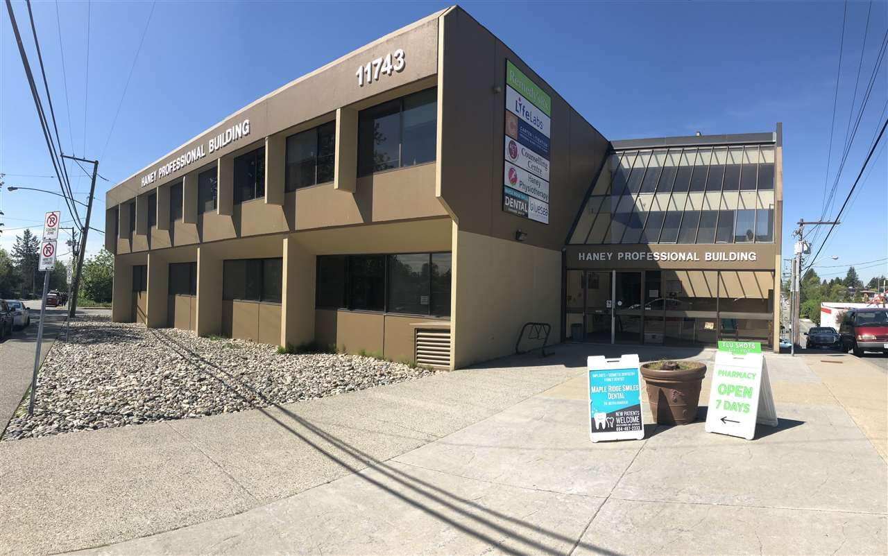 Main Photo: 104 11743 224 Street in Maple Ridge: West Central Office for lease : MLS®# C8026095