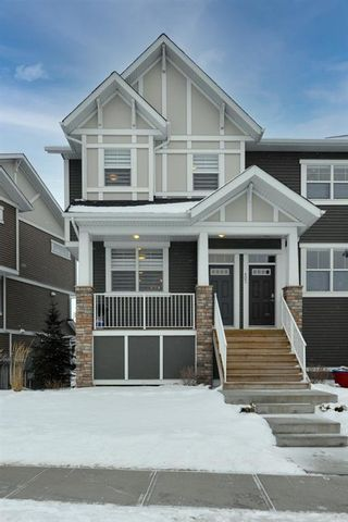 Photo 1: 501 1225 Kings Heights Way: Airdrie Row/Townhouse for sale : MLS®# A1064364