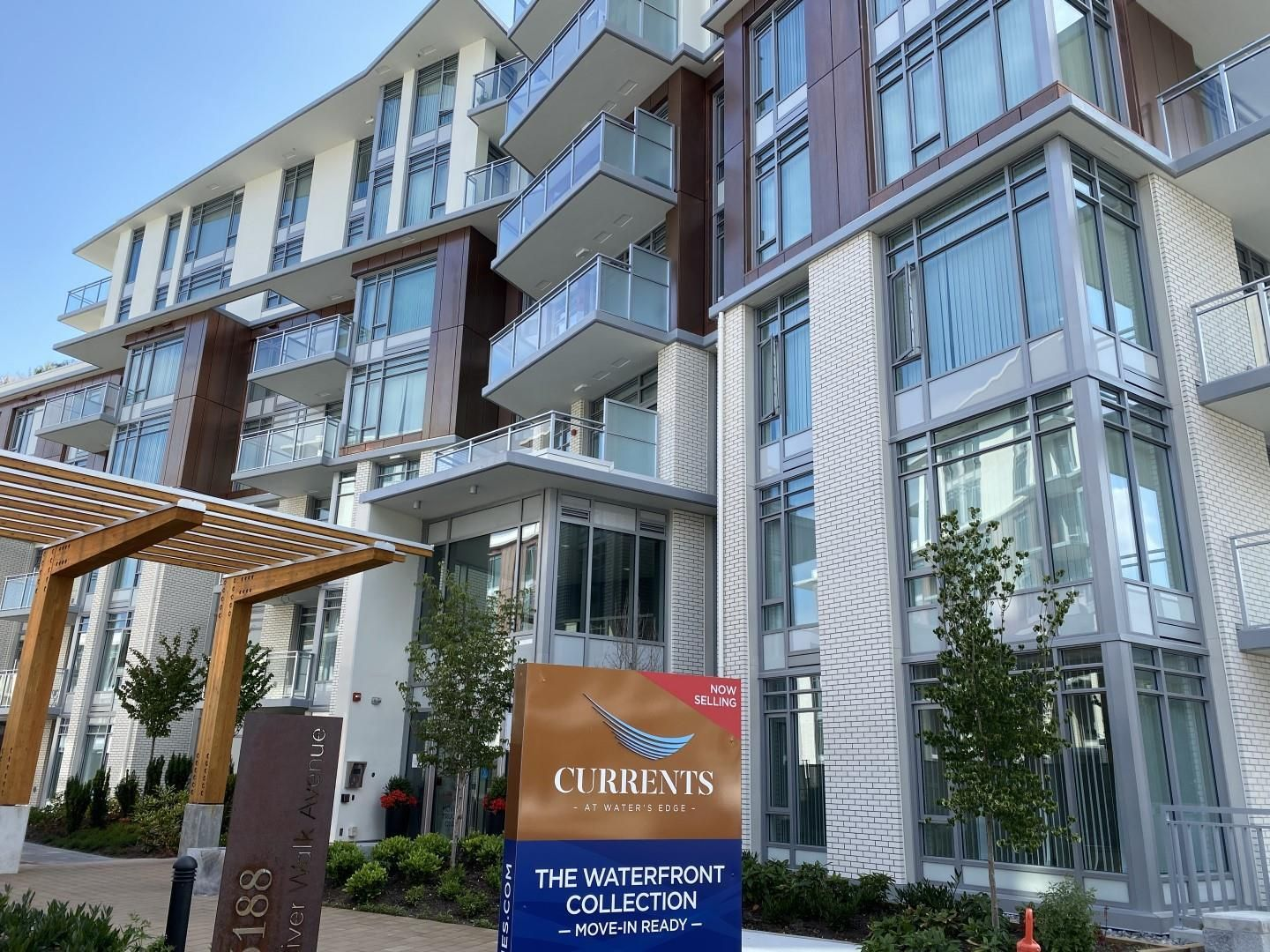 Main Photo: 308 3188 RIVERWALK Avenue in Vancouver: South Marine Condo for sale (Vancouver East)  : MLS®# R2602099