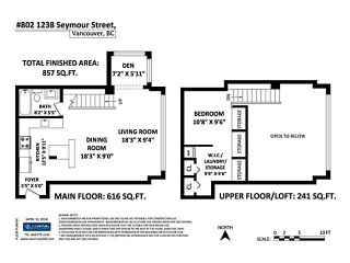 Photo 18: # 802 1238 SEYMOUR ST in Vancouver: Downtown VW Condo for sale (Vancouver West)  : MLS®# V1058300