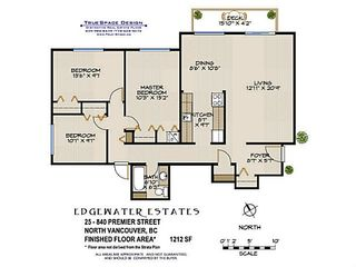 "Photo 16: 25 840 PREMIER Street in North Vancouver: Lynnmour Condo for sale in ""EDGEWATER ESTATES"" : MLS®# V1020536"