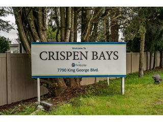 """Photo 40: 186 7790 KING GEORGE Boulevard in Surrey: East Newton Manufactured Home for sale in """"Crispen Bays"""" : MLS®# R2560382"""