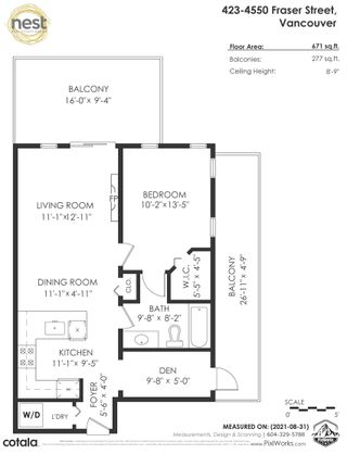 """Photo 29: 423 4550 FRASER Street in Vancouver: Fraser VE Condo for sale in """"Century"""" (Vancouver East)  : MLS®# R2614168"""