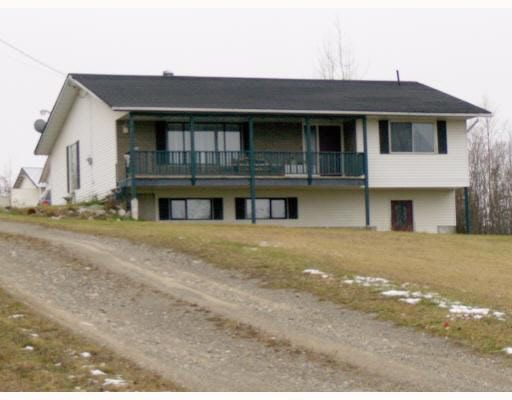 Main Photo: 1122 EAGLE ROAD in : Quesnel - Rural North House for sale : MLS®# N188479
