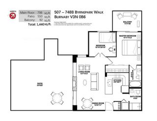 """Photo 19: 507 7488 BYRNEPARK Walk in Burnaby: South Slope Condo for sale in """"THE GREEN"""" (Burnaby South)  : MLS®# R2363421"""
