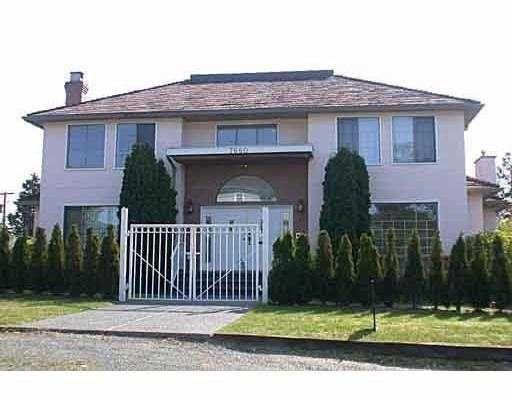 Main Photo: 7880 Yukon Street in Vancouver: Marpole Home for sale ()  : MLS®# V562814