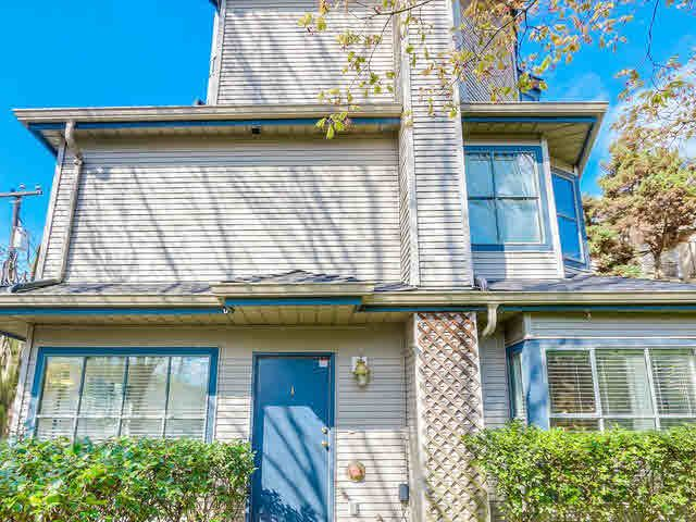 Main Photo: 1 8679 CARTIER STREET in : Marpole Townhouse for sale : MLS®# V1115922