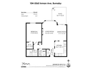 """Photo 36: 104 5565 INMAN Avenue in Burnaby: Central Park BS Condo for sale in """"AMBLE GREEN"""" (Burnaby South)  : MLS®# R2602480"""