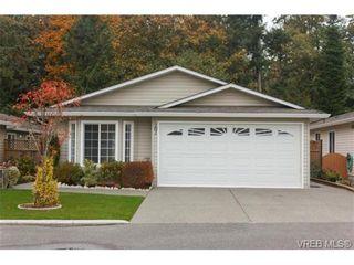 Photo 1: 101 7570 Tetayut Rd in SAANICHTON: CS Hawthorne Manufactured Home for sale (Central Saanich)  : MLS®# 714822