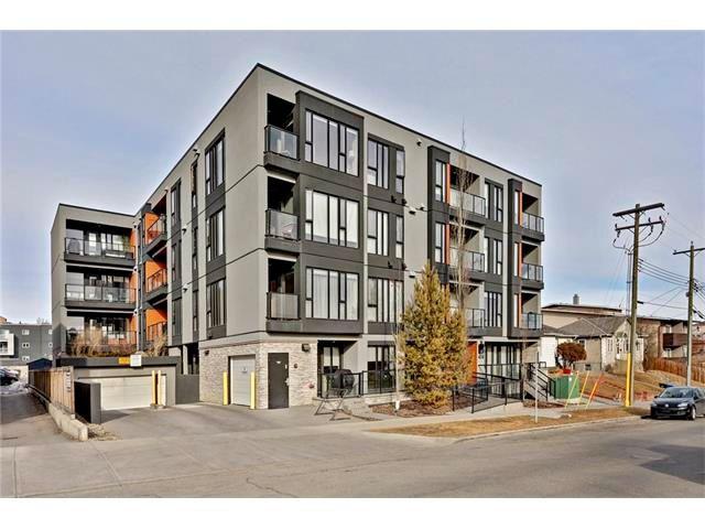 Main Photo: 105 414 MEREDITH Road NE in Calgary: Crescent Heights Condo for sale : MLS®# C4050218