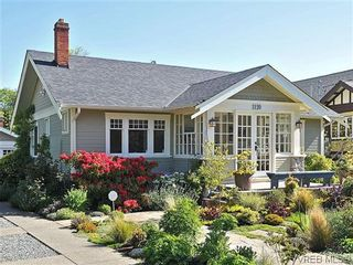 Photo 1: 1120 Woodstock Ave in VICTORIA: Vi Fairfield West House for sale (Victoria)  : MLS®# 606322