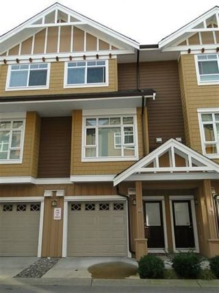"""Photo 1: 83 2979 156 Street in Surrey: Grandview Surrey Townhouse for sale in """"Enclave"""" (South Surrey White Rock)  : MLS®# R2243871"""