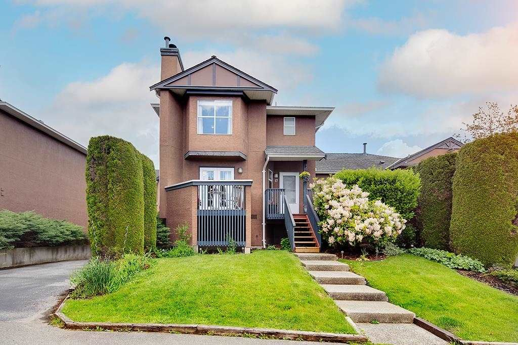"""Main Photo: 17 1336 PITT RIVER Road in Port Coquitlam: Citadel PQ Townhouse for sale in """"Willow Glen"""" : MLS®# R2592264"""