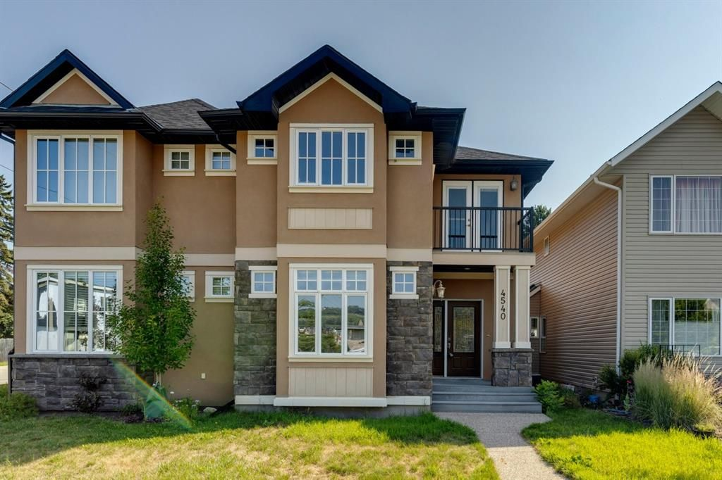 Main Photo: 4540 20 Avenue NW in Calgary: Montgomery Semi Detached for sale : MLS®# A1130084