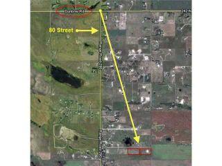 Photo 2: 262034 80 St E in DE WINTON: Rural Foothills M.D. Rural Land for sale : MLS®# C3631916