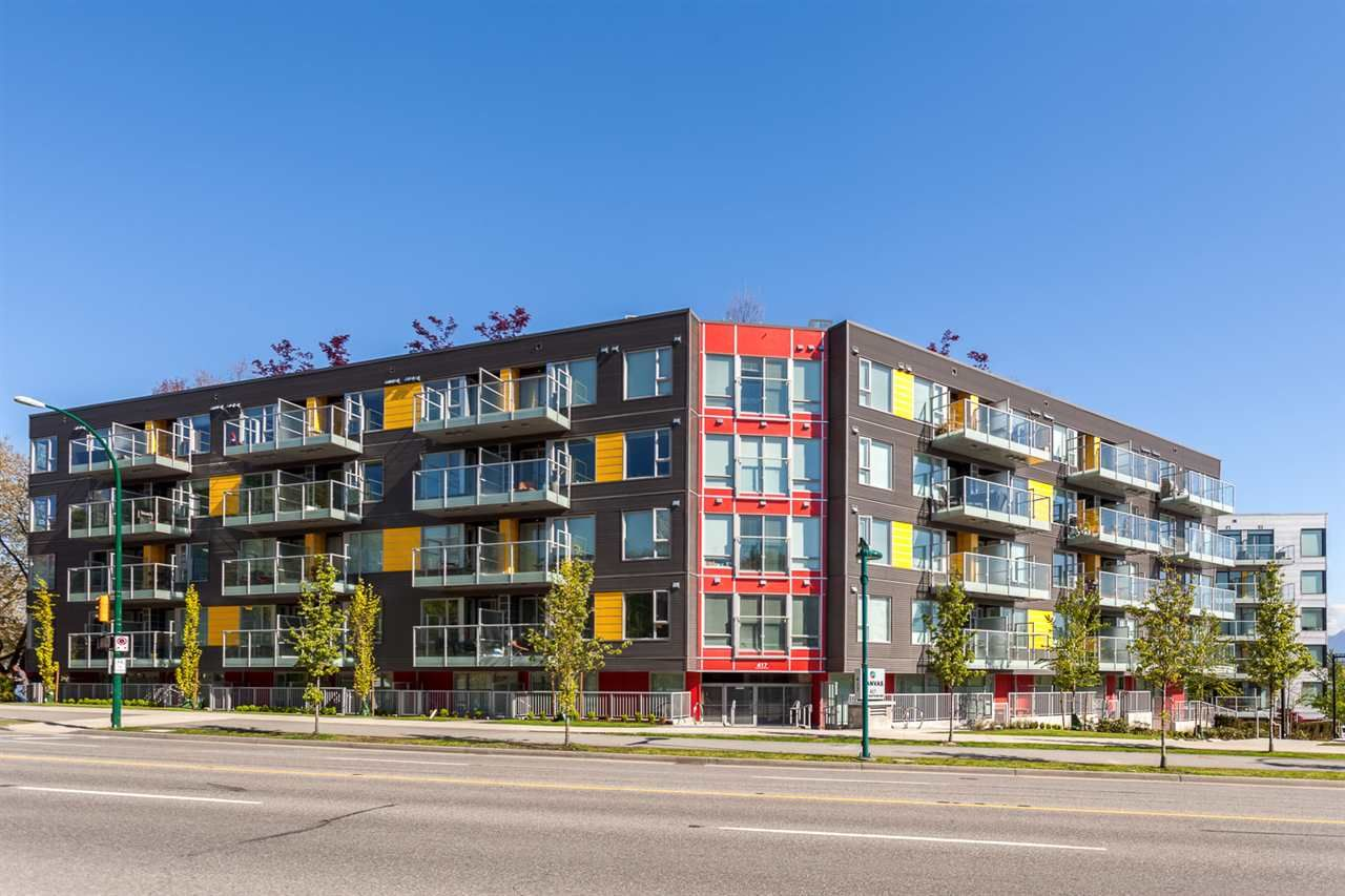 Main Photo: 107 417 GREAT NORTHERN Way in Vancouver: Strathcona Condo for sale (Vancouver East)  : MLS®# R2407456