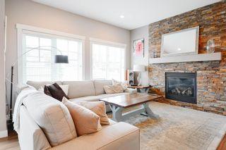 Photo 16: 4073 ALLAN Crescent in Edmonton: Zone 56 House Half Duplex for sale : MLS®# E4256367