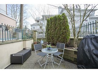 Photo 10: # 104 3278 HEATHER ST in Vancouver: Cambie Condo for sale (Vancouver West)  : MLS®# V1105651