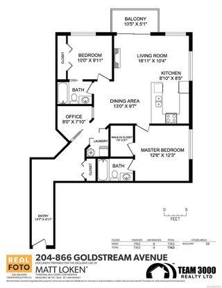 Photo 22: 204 866 Goldstream Ave in : La Langford Proper Condo for sale (Langford)  : MLS®# 853615