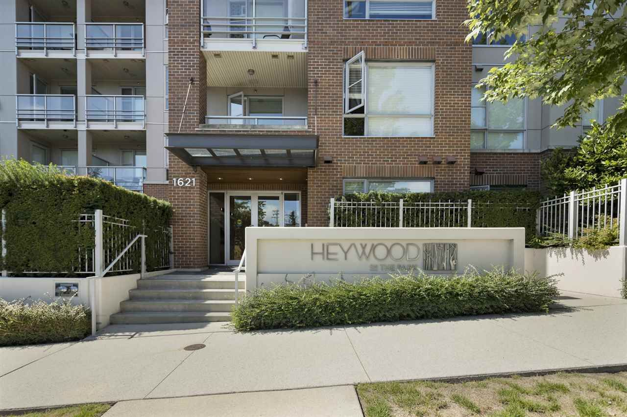 "Main Photo: 108 1621 HAMILTON Avenue in North Vancouver: Mosquito Creek Condo for sale in ""Heywood on The Park"" : MLS®# R2486566"