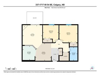 Photo 23: 337 1717 60 Street SE in Calgary: Red Carpet Apartment for sale : MLS®# A1067174