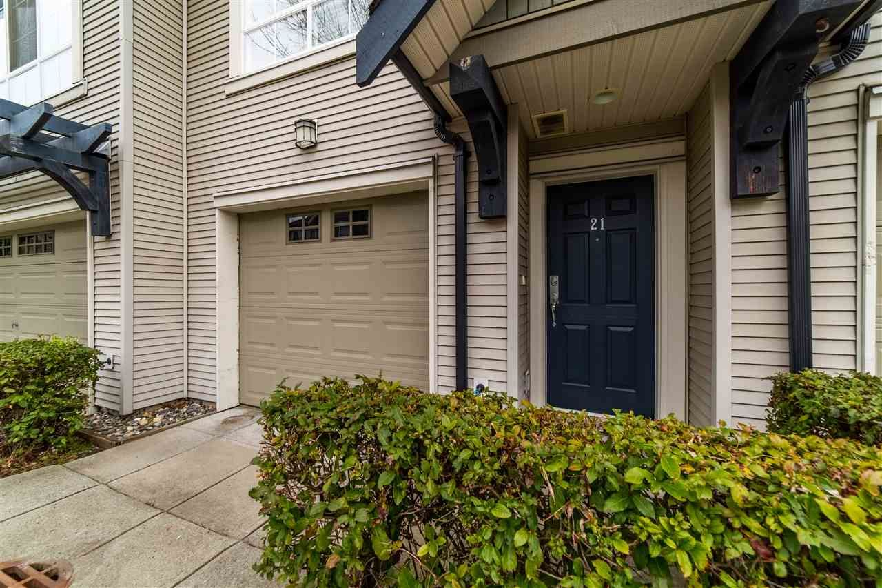 Main Photo: 21 2978 WHISPER Way in Coquitlam: Westwood Plateau Townhouse for sale : MLS®# R2559019