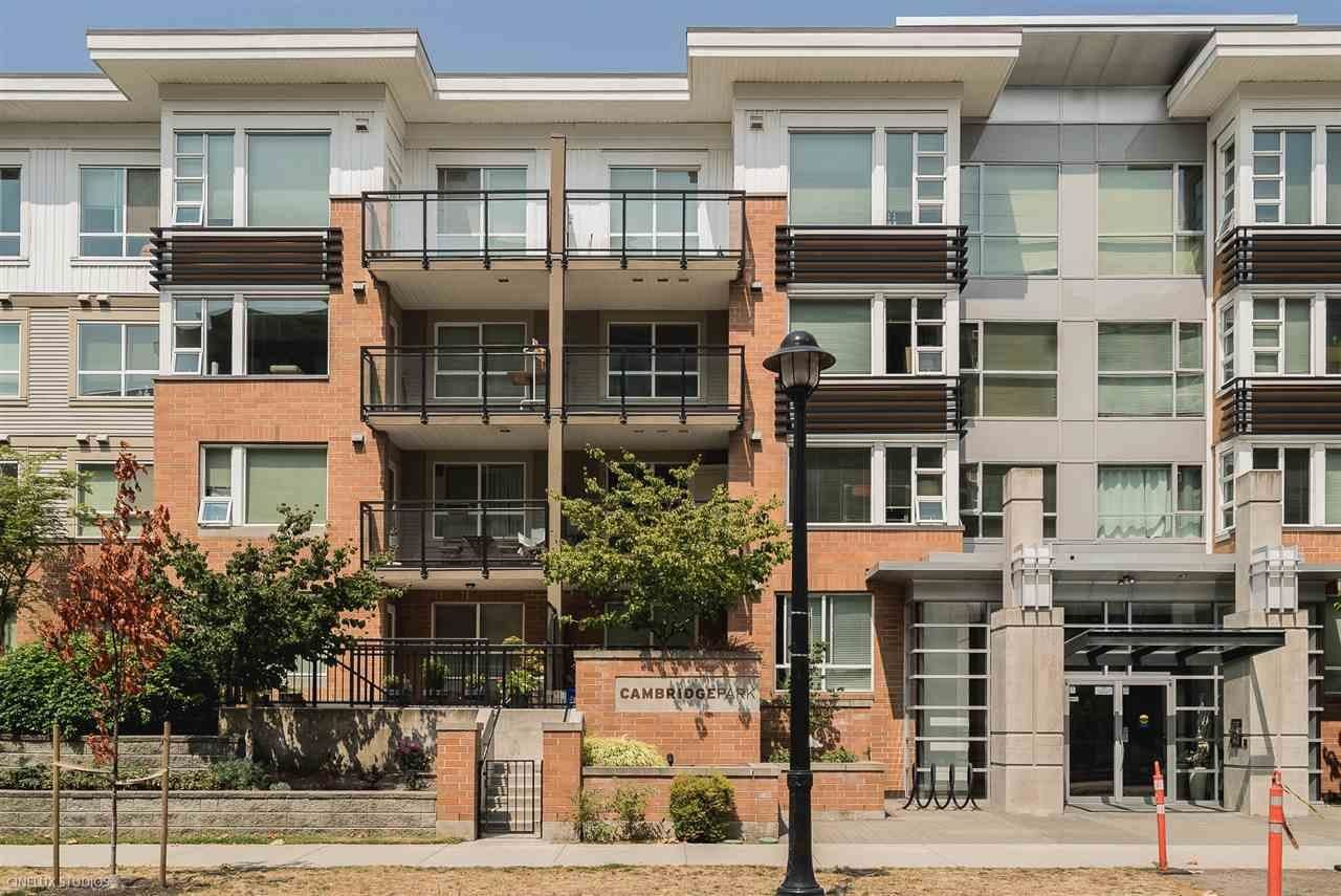 Main Photo: 315 9399 TOMICKI Avenue in Richmond: West Cambie Condo for sale : MLS®# R2625487