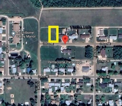 Main Photo: 508 3rd Avenue Northeast in Preeceville: Lot/Land for sale : MLS®# SK850855