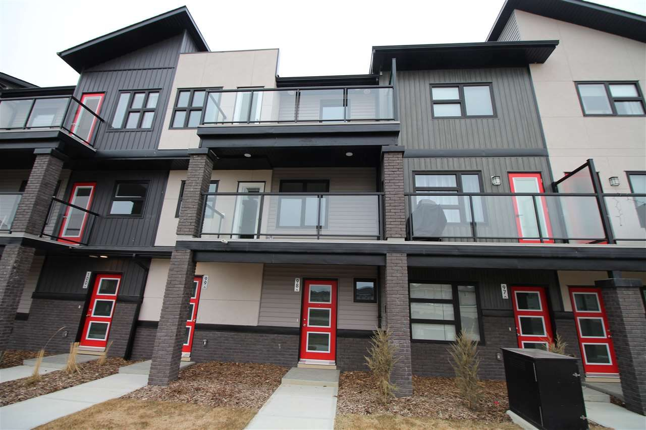 Main Photo: 84 1203 163 Street in Edmonton: Zone 56 Townhouse for sale : MLS®# E4228192