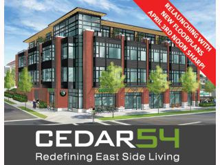 """Photo 1: 310 2008 E 54TH Avenue in Vancouver: Fraserview VE Condo for sale in """"CEDAR54"""" (Vancouver East)  : MLS®# V819372"""