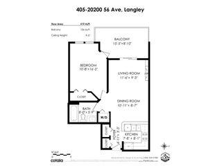"Photo 23: 405 20200 56 Avenue in Langley: Langley City Condo for sale in ""The Bentley"" : MLS®# R2530044"
