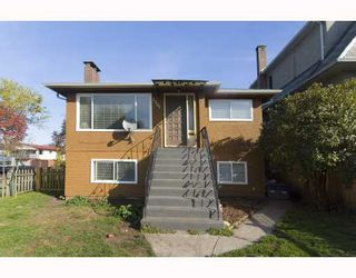 Photo 1: 2501 E GEORGIA Street in Vancouver: Renfrew VE House for sale (Vancouver East)  : MLS®# V788885