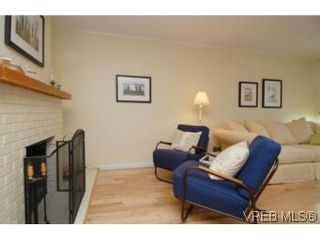 Photo 3: 1 26 Menzies St in VICTORIA: Vi James Bay Row/Townhouse for sale (Victoria)  : MLS®# 494290