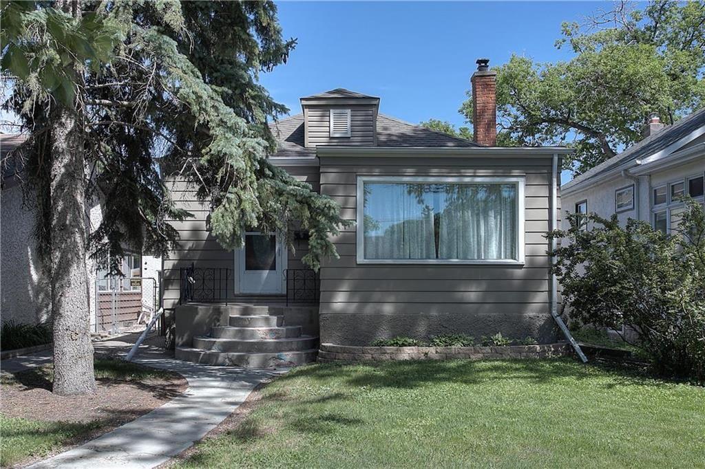 Main Photo: 96 Crawford Avenue in Winnipeg: Norwood Flats Single Family Detached for sale (2B)  : MLS®# 202115171