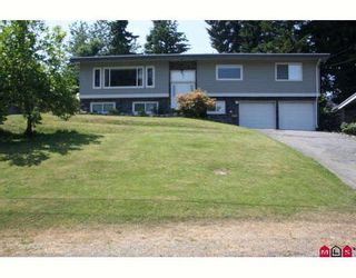 Photo 1: 32555 WILLINGDON Crescent in Abbotsford: Abbotsford West House for sale : MLS®# F2913152