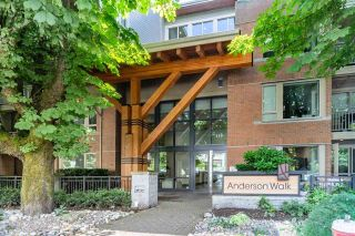 """Photo 1: 121 119 W 22ND Street in North Vancouver: Central Lonsdale Condo for sale in """"ANDERSON WALK"""" : MLS®# R2593234"""