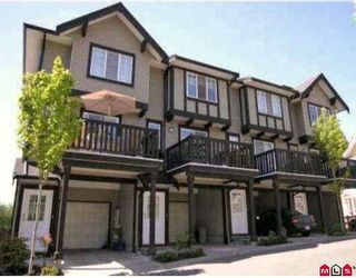 "Photo 1: 80 20176 68TH Avenue in Langley: Willoughby Heights Townhouse for sale in ""Steeplechase"" : MLS®# F2806030"