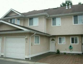 Photo 1: 3 10795 NO 2 Road in Richmond: Steveston North Townhouse for sale : MLS®# V633044
