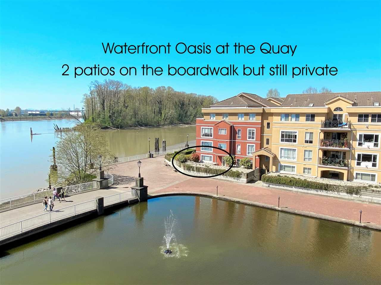 """Main Photo: 109 6 RENAISSANCE Square in New Westminster: Quay Condo for sale in """"The Rialto"""" : MLS®# R2572791"""