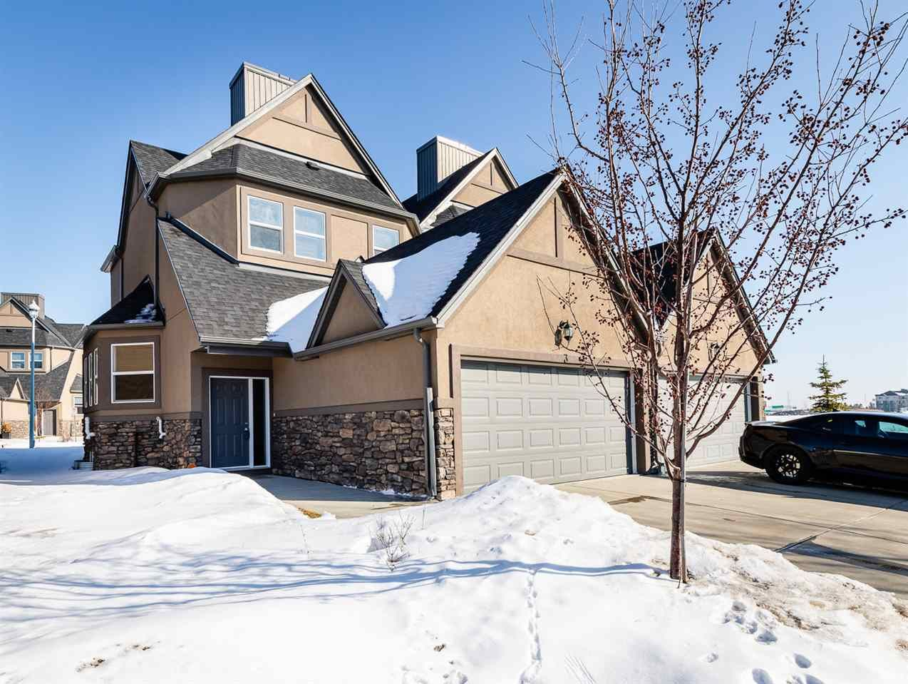 Main Photo: 3 1720 GARNETT Point in Edmonton: Zone 58 House Half Duplex for sale : MLS®# E4226231