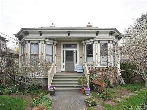Main Photo: 1446 Pembroke St in VICTORIA: Vi Fernwood Row/Townhouse for sale (Victoria)  : MLS®# 635694