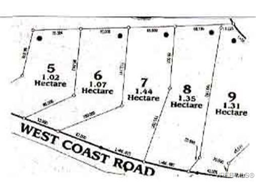 Main Photo: LOT 7 West Coast Rd in SOOKE: Sk French Beach Land for sale (Sooke)  : MLS®# 81099