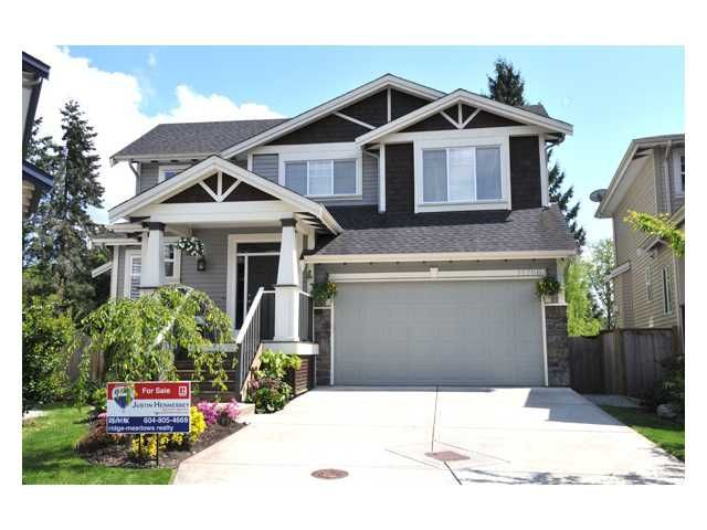 """Main Photo: 11786 237A Street in Maple Ridge: Cottonwood MR House for sale in """"ROCKWELL PARK"""" : MLS®# V828849"""