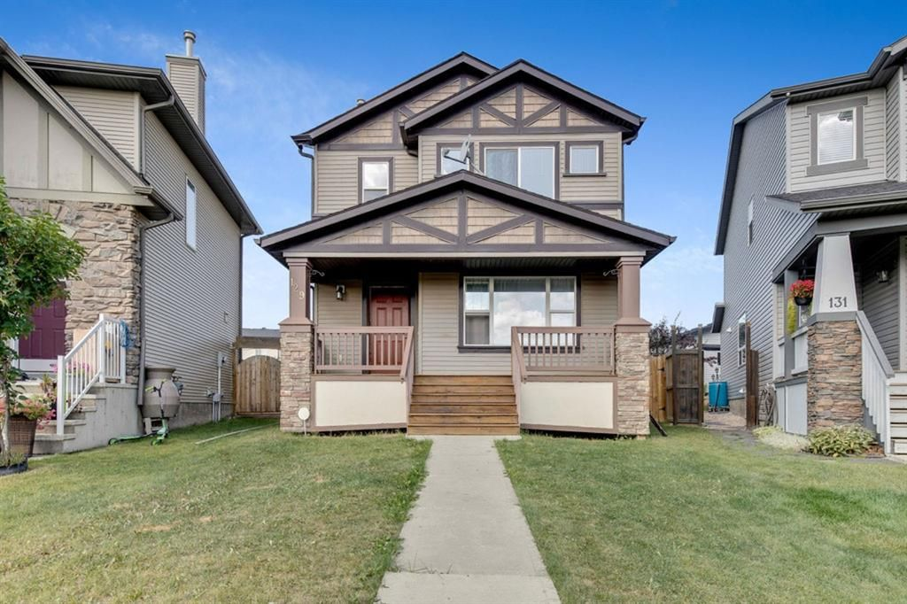 Main Photo: 129 Silverado Plains Close SW in Calgary: Silverado Detached for sale : MLS®# A1139715