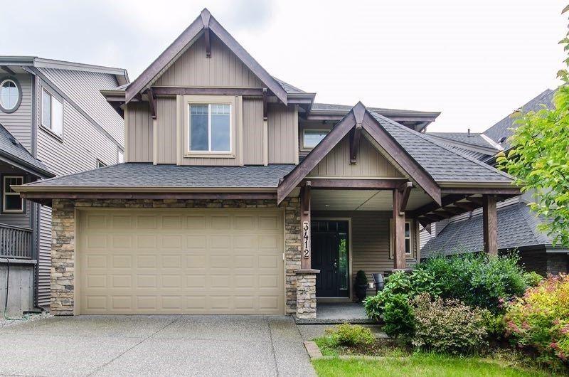 Main Photo: 3412 HORIZON Drive in Coquitlam: Burke Mountain House for sale : MLS®# R2539504