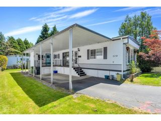 """Photo 1: 328 1840 160 Street in Surrey: King George Corridor Manufactured Home for sale in """"BREAKAWAY BAYS"""" (South Surrey White Rock)  : MLS®# R2593768"""