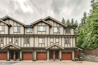 """Photo 1: 119 3333 DEWDNEY TRUNK Road in Port Moody: Port Moody Centre Townhouse for sale in """"CENTRE POINT"""" : MLS®# R2408387"""