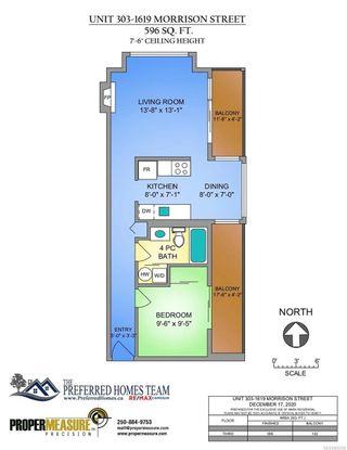 Photo 12: 303 1619 Morrison St in : Vi Downtown Condo for sale (Victoria)  : MLS®# 862385