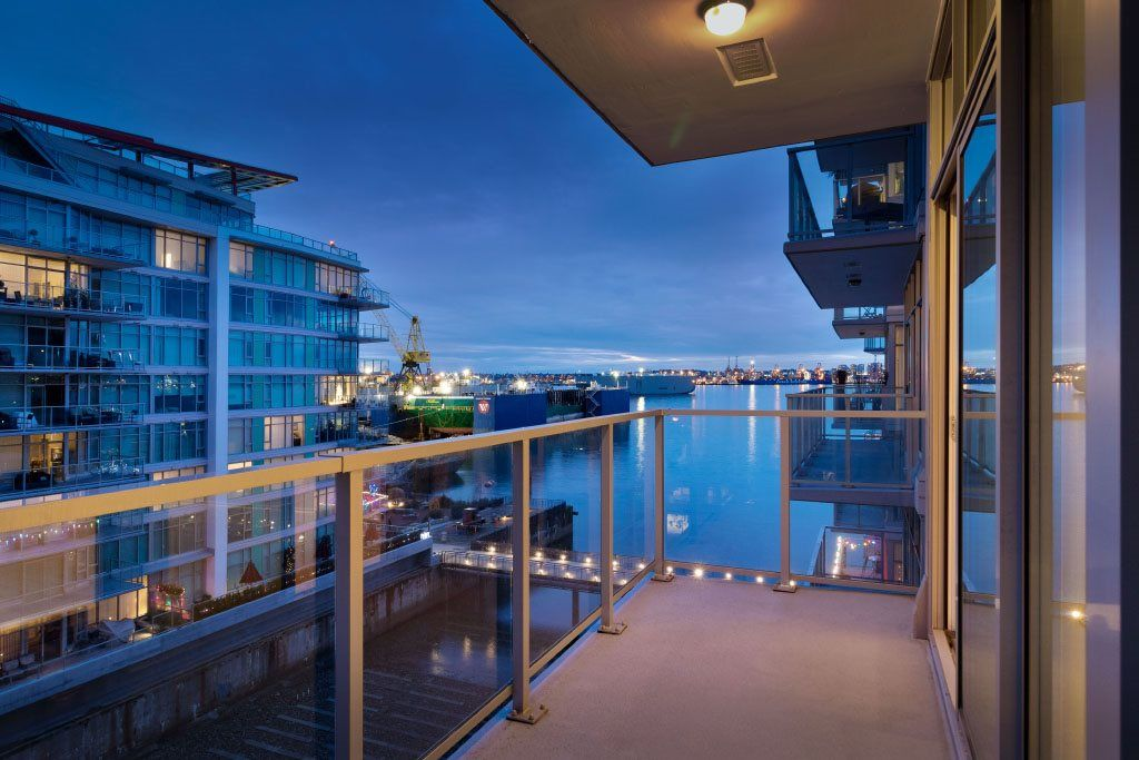 """Main Photo: 602 175 VICTORY SHIP Way in North Vancouver: Lower Lonsdale Condo for sale in """"CASCADE AT THE PIER"""" : MLS®# R2498097"""